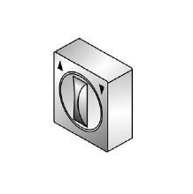выключатель поворотный для наружной проводки